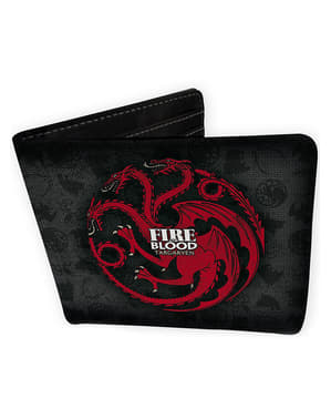 Carteira Game of Thrones Targaryen
