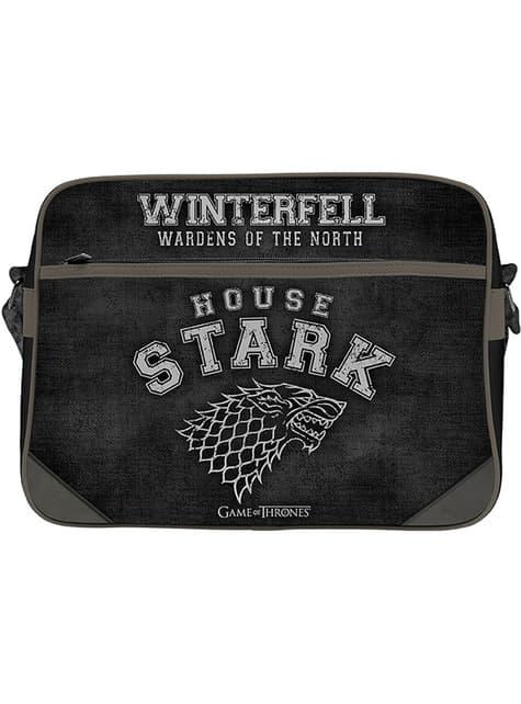 Black Game of Thrones Stark Messenger Bag