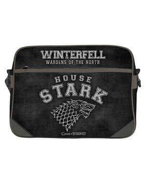 Musta Game of Thrones Stark -Lähettilaukku
