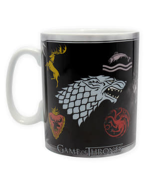 Caneca Game of Thrones Emblemas casas