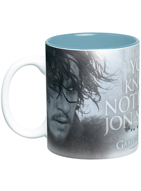 Game of Thrones You Know Nothing Mug