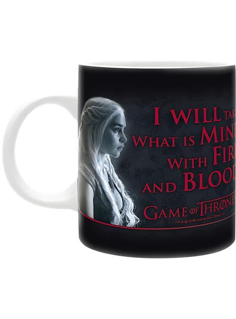 Taza Juego de Tronos Fire & Blood