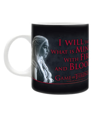 Mug Game of Thrones Fire & Blood