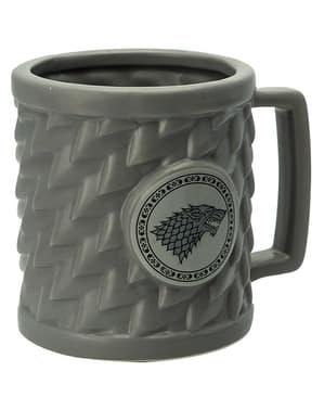 Mug 3D Game of Thrones Stark