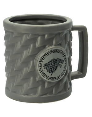 Mugg 3D Game of Thrones Stark