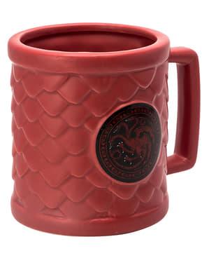 Caneca 3D Game of Thrones Targaryen