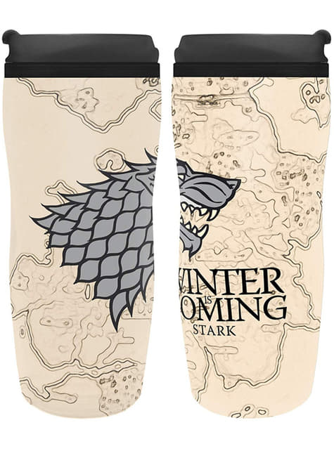 Game of Thrones Winter Is Coming Travel Mug