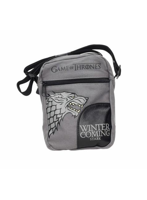Mala a tiracolo pequena Game of Thrones Stark