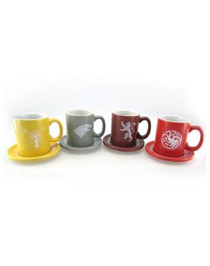 Game of Thrones Logos Mini-Tassen Set