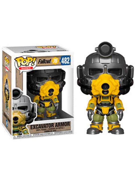 Funko POP! Servoarmadura excavadora - Fallout 76