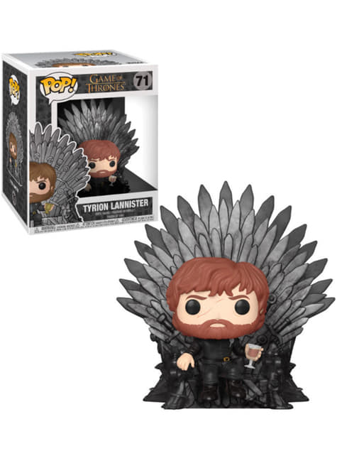 Funko POP! Tyrion sobre Trono de Hierro - Juego de Tronos