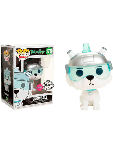 Funko POP! Snowball Flocked Exclusive - Rick & Morty