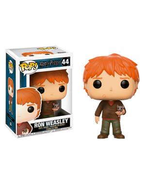 Funko POP! Ron Weasley dengan Scabbers - Harry Potter