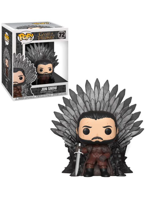 Funko POP! Jon Snow Duduk di Arasy - Game of Thrones