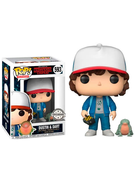 Funko POP! Dustin with Baby Dart - Stranger Things (Exclusive)