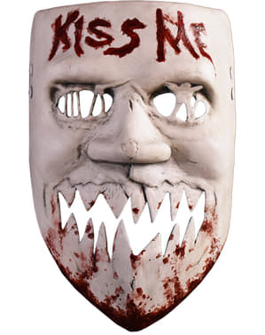 The Purge Kiss Me mask for adults