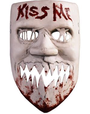 The Purge Kiss Me masker voor volwassenen