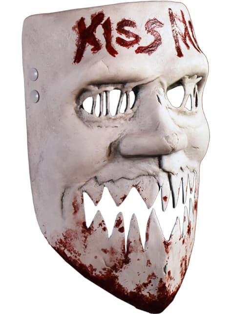 Máscara La Purga Kiss Me para adulto - para tu disfraz