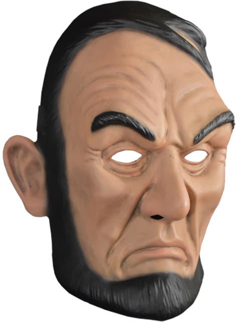 Máscara La Purga Abe Lincoln para adulto - para tu disfraz