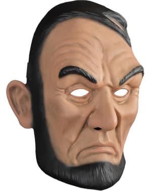 Máscara La Purga Abe Lincoln para adulto