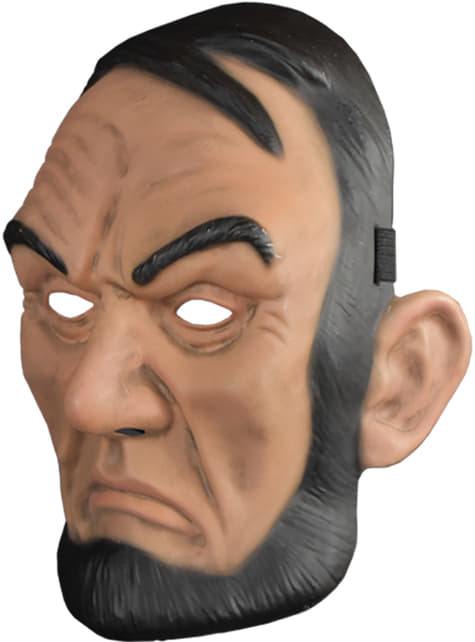 Máscara La Purga Abe Lincoln para adulto - original