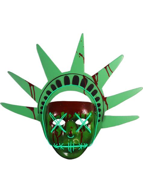 Máscara de Estatua de la Libertad La Purga