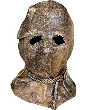 Sack masker met touw voor volwassenen - Trick or Treat