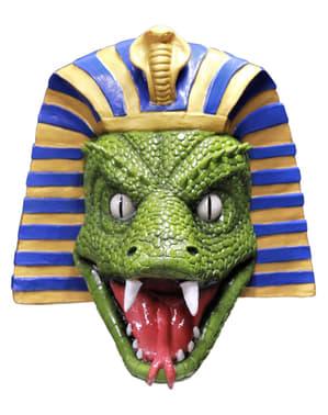 Máscara de serpente egípcia para adulto