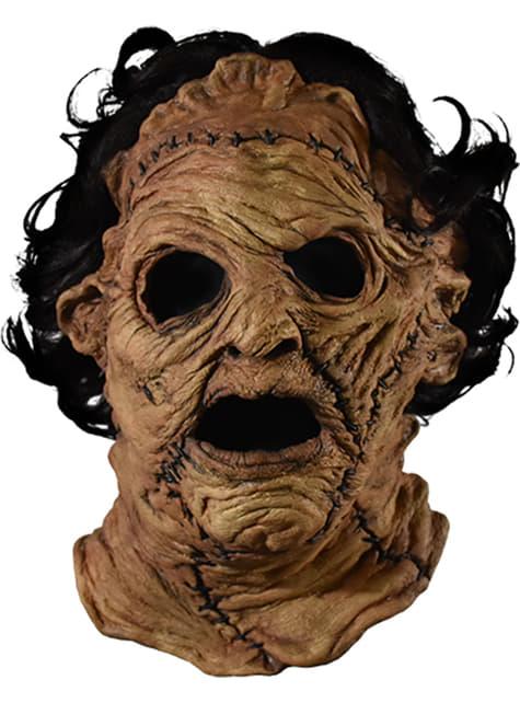 Máscara de Leatherface 2013 para adulto - La Matanza de Texas