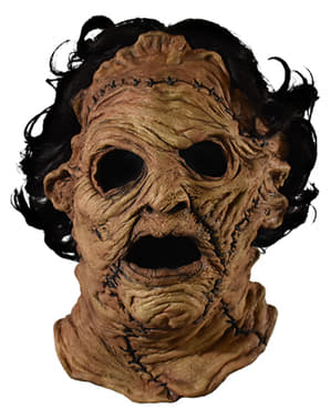 Maska Leatherface dla dorosłych – Piła Mechaniczna 2013