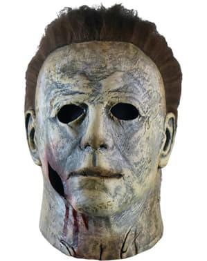 Máscara de Michael Myers 2018 con sangre para adulto- Halloween 2018