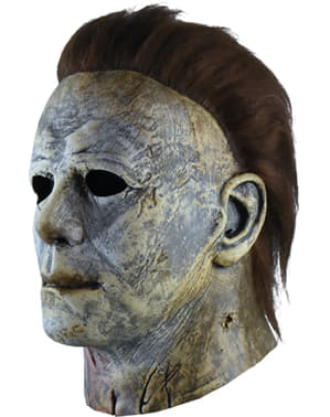 Michael Myers 2018 Maske mit Blut für Erwachsene - Halloween 2018