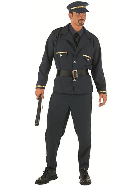 Disfraz de policía stripper - hombre