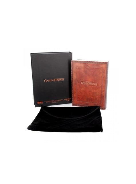 Cuaderno Juego de Tronos Fire and Blood deluxe pequeño - oficial
