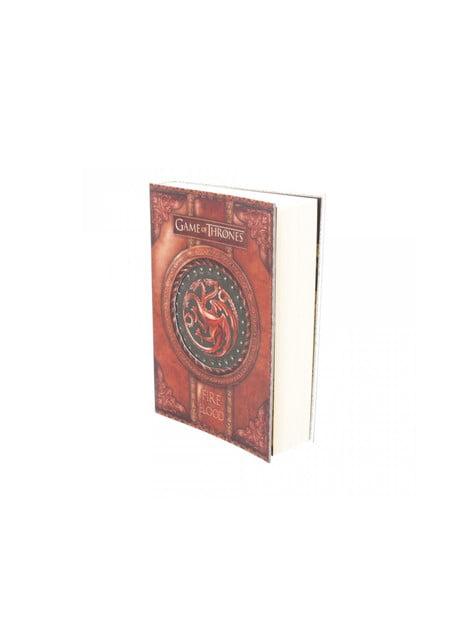 Cuaderno Juego de Tronos Fire and Blood deluxe pequeño - barato