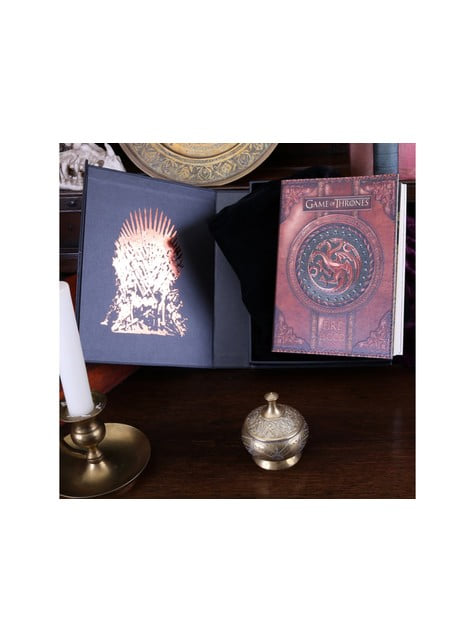 Caderno Game of Thrones Fire and Blood deluxe pequeno