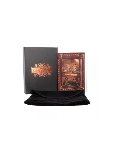 Game of Thrones Iron Throne small notebook Deluxe