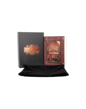 Quaderno de Game of thrones Iron Throne deluxe piccolo
