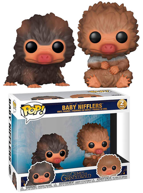 Funko POP! 2 Figures Pack: Baby Nifflers - Fantastic Beasts 2 The Crimes of Grindelwald