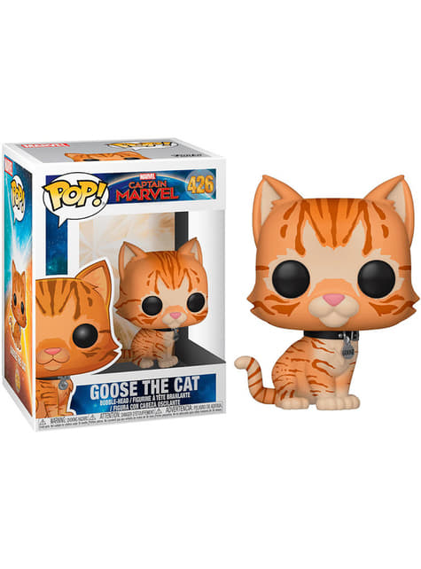 Funko POP! Ganso el gato - Capitana Marvel