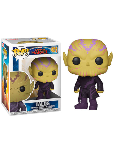 Funko POP! Talos -  Capitain Marvel