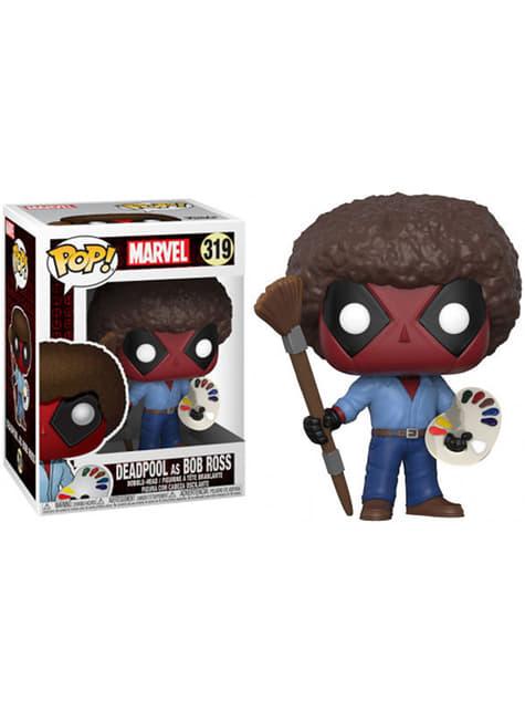 Funko POP! Deadpool Pintor Bob Ross