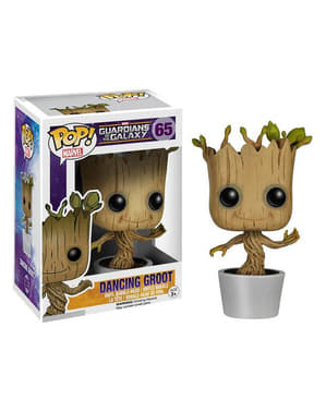 Funko POP! Groot bailando - Guardianes de la Galaxia