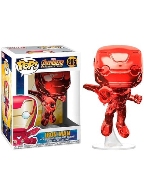 Funko POP! Iron Man Red - Avengers: Infinity War (Exclusive)