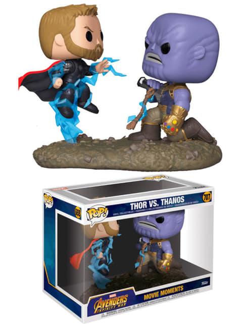 Funko POP! Thor vs Thanos - Vengadores: Infinity War