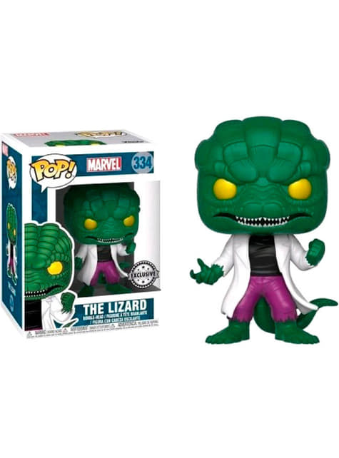 Funko POP! Lagarto (Exclusive) - Spiderman