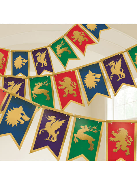 Medieval bunting - Medieval Collection