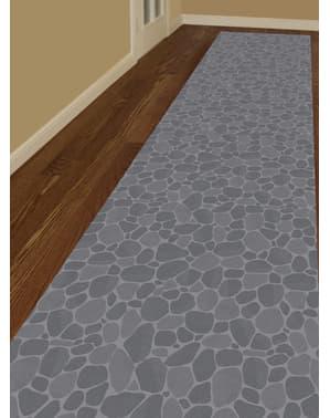 Decoração para chão imitação de pedras