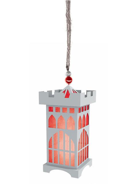 Mini LED medieval towel lantern
