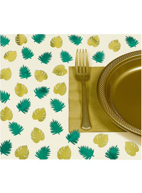 Zestaw 48 dekoracje stołu Tropikalne Liście – Key West